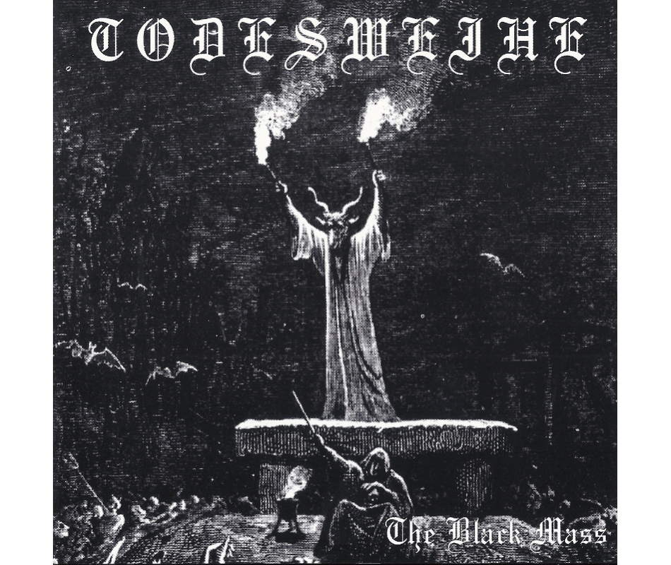 Todesweihe - The Black Mass (Ger), MCD Darker Than Black